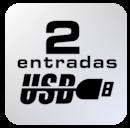 icone 2 usb