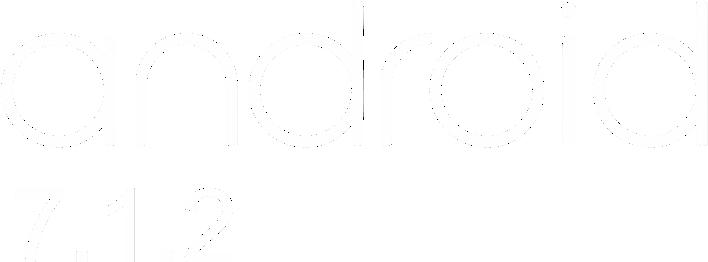 Android logo texto